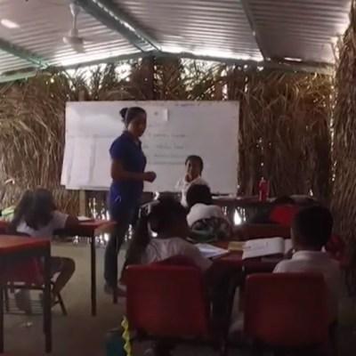 Escuelas olvidadas tras sismo de 2017 en Oaxaca