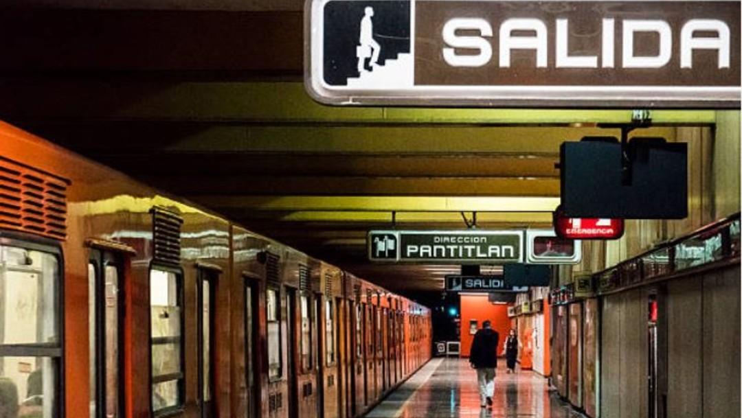 Hombre se corta el cuello en Metro Pantitlán
