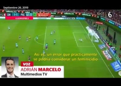 Perla Negra: Comentarista compara 'mala jugada' de futbol con feminicidio