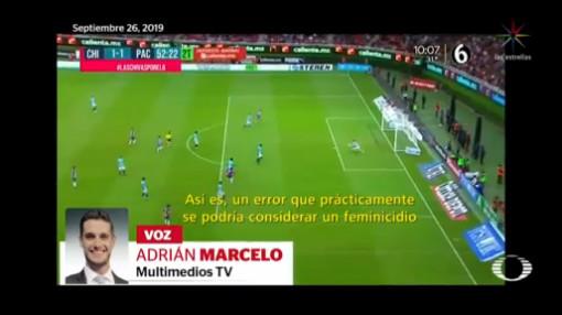Foto: Comentarista Compara Mala Jugada Futbol Feminicidio 26 Septiembre 2019