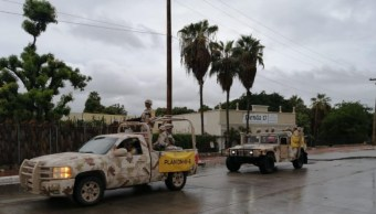 Foto: El Ejército Mexicano aplica el Plan DN-III-E en Baja California Sur por el paso del huracán 'Lorena', 21 septiembre 2019