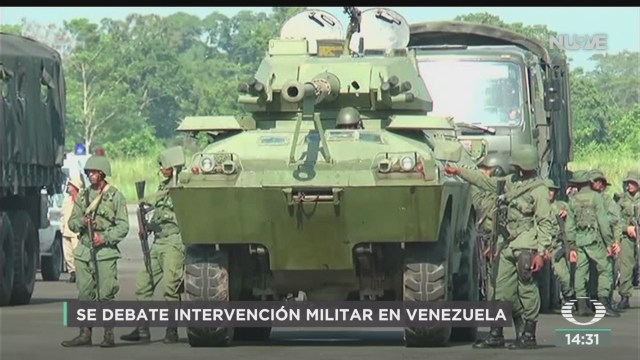 FOTO: Podría Haber Una Intervención Venezuela