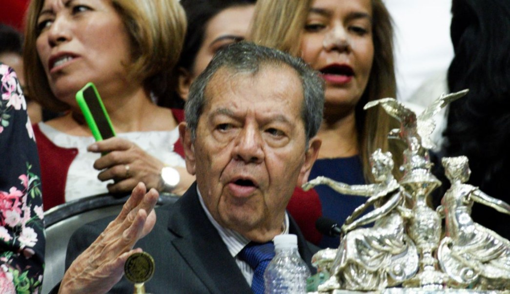 Porfirio Muñoz Ledo, expresidencia de la Mesa Directiva de la Cámara de Diputados. Cuartoscuro