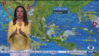 Prevén lluvias intensas en Puebla, Veracruz, Oaxaca, Chiapas, Tabasco y Campeche