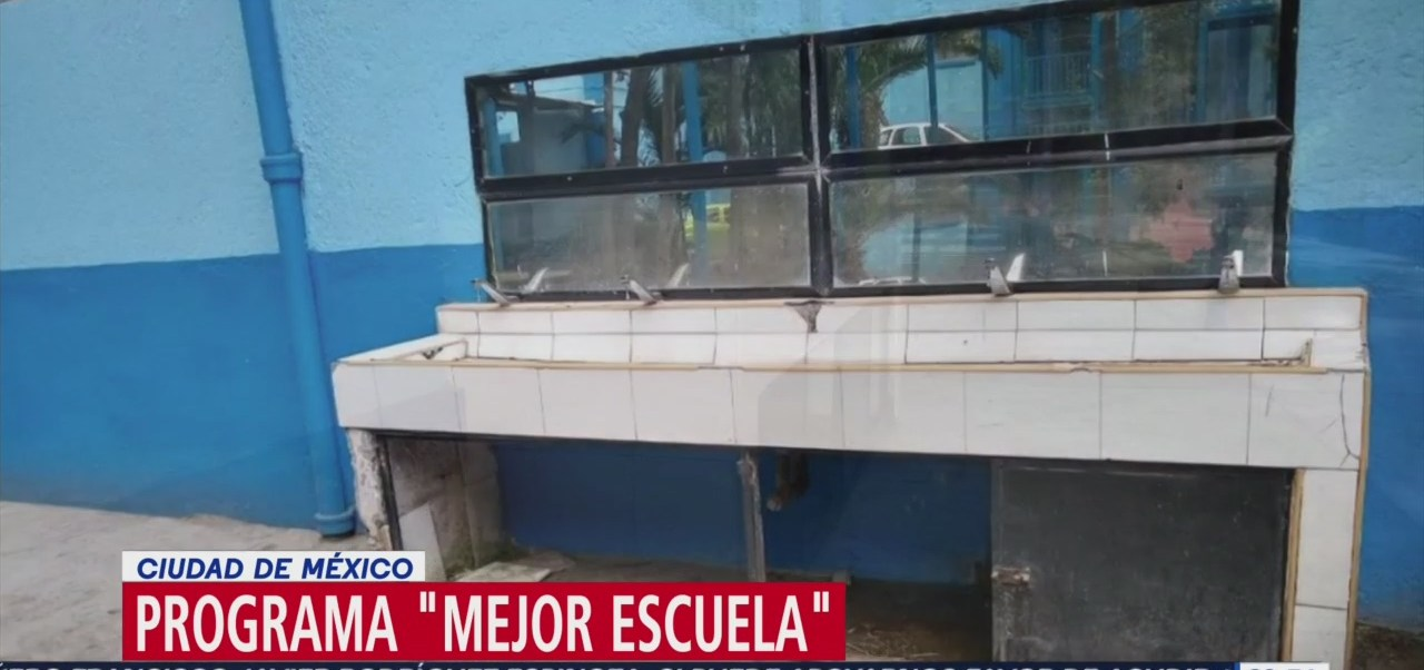Foto: Programa Mejor Escuela Infraestructura Planteles Educativos 5 Septiembre 2019