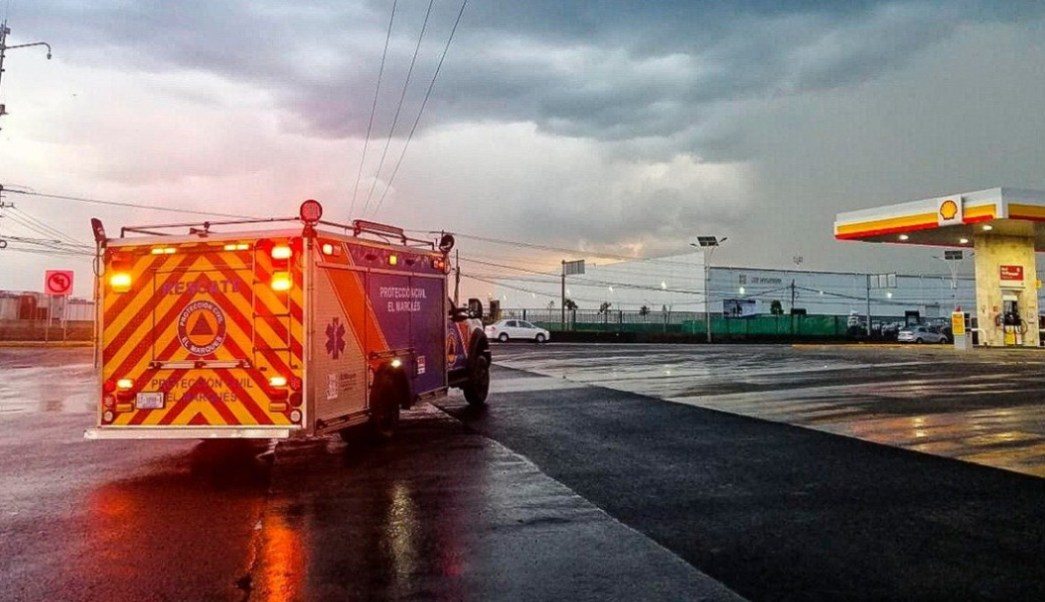 Foto: Protección Civil El Marqués,14 de agosto de 2019, México