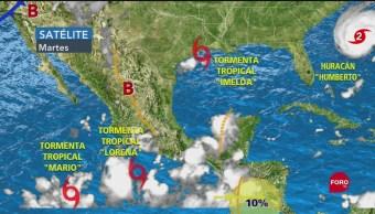 FOTO: Protección Civil Mantiene Alerta Por Tormenta Tropical Lorena