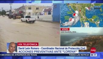 Foto: Protección Civil Reporta Saldo Blanco Por Paso Huracán Lorena