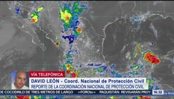 FOTO: Protección Civil Reporta Saldo Blanco Por Lluvias México