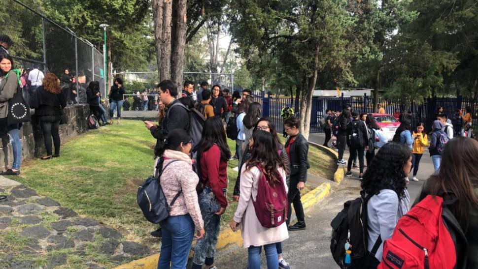 FOTO Reabren Facultad de Ciencias Politicas de la UNAM (Noticieros Televisa)