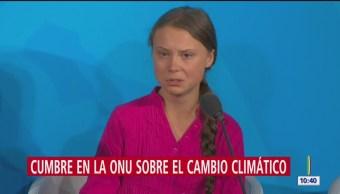 Realizan cumbre de acción climática en Nueva York