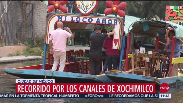 FOTO: Recorrido por los canales de Xochimilco, 14 septiembre 2019