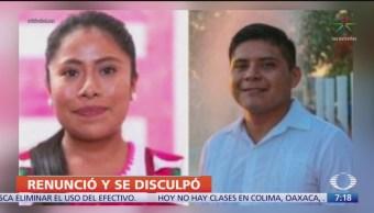FOTO: Renuncia Dirigente Juvenil PAN Por Agresión Contra Yalitza Aparicio