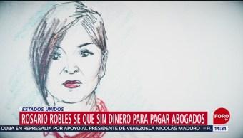 FOTO: Rosario Robles Se Queda Sin Abogados Por Falta Dinero