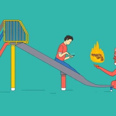 ¿Hay un vínculo entre la violencia, la salud mental y nuestro consumo de internet?