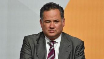 Foto: Santiago Pérez Nieto, Titular de la Unidad de Inteligencia Financiera (UIF), durante la firma de Convenio de Colaboración con el gobierno del Estado de México para combatir acciones como el lavado de dinero, el 9 de septiembre de 2019. (Crisanta Espinosa Aguilar /Cuartoscuro.com)