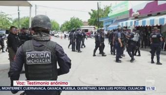 Se disparan a casi 9% los homicidios dolosos en Michoacán