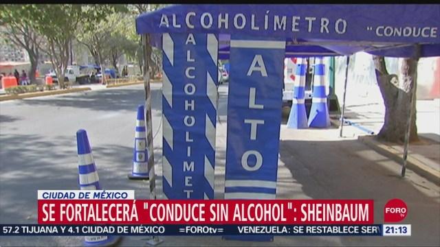Se fortalecerán medidas en alcoholímetros de la Ciudad de México