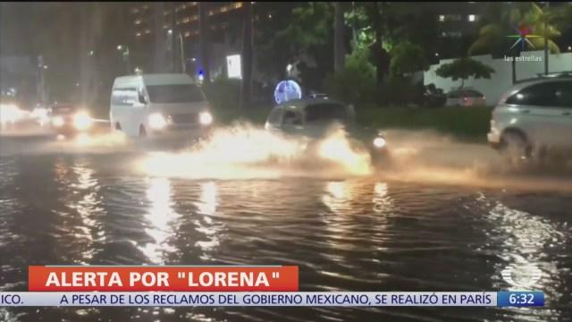 Alerta, en el Pacífico mexicano por tres fenómenos meteorológicos