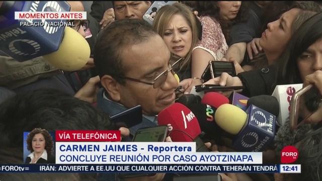 Se planea nueva reunión entre padres de normalistas y fiscales por caso Ayotzinapa