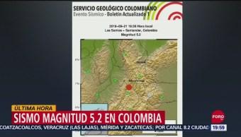 Foto: Sismo Colombia Hoy No Hay Victimas 21 Septiembre 2019
