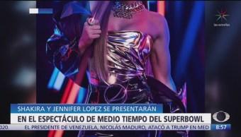 Foto: Shakira, Jennifer Lopez, medio tiempo Super Bowl,