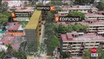 Sismo del 19S colapsó edificio del Multifamiliar ISSSTE Tlalpan