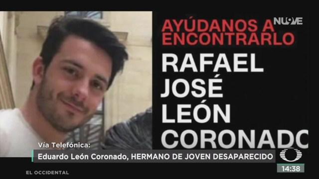Foto: Solicitan Ayuda Para Localizar Rafael José León Coronado