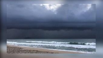 Foto: La depresión tropical 'Lorena' se ubicaba a 65 km, al sureste de Bahía de Kino, Sonora, 22 septiembre 2019