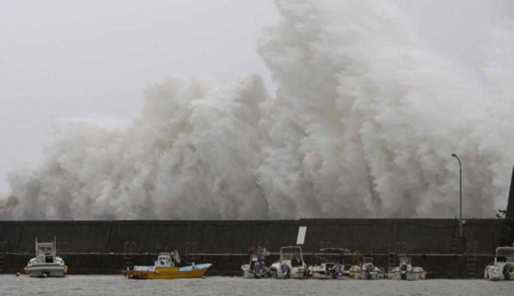 Tormenta tropical 'Tapah', en Japón y Corea del Sur, deja 30 heridos
