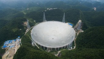 Foto Telescopio Esférico Quinientos Metros Apertura
