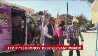 Foto: Tepjf Multa Jaime Rodríguez Calderón El Bronco 25 Septiembre 2019