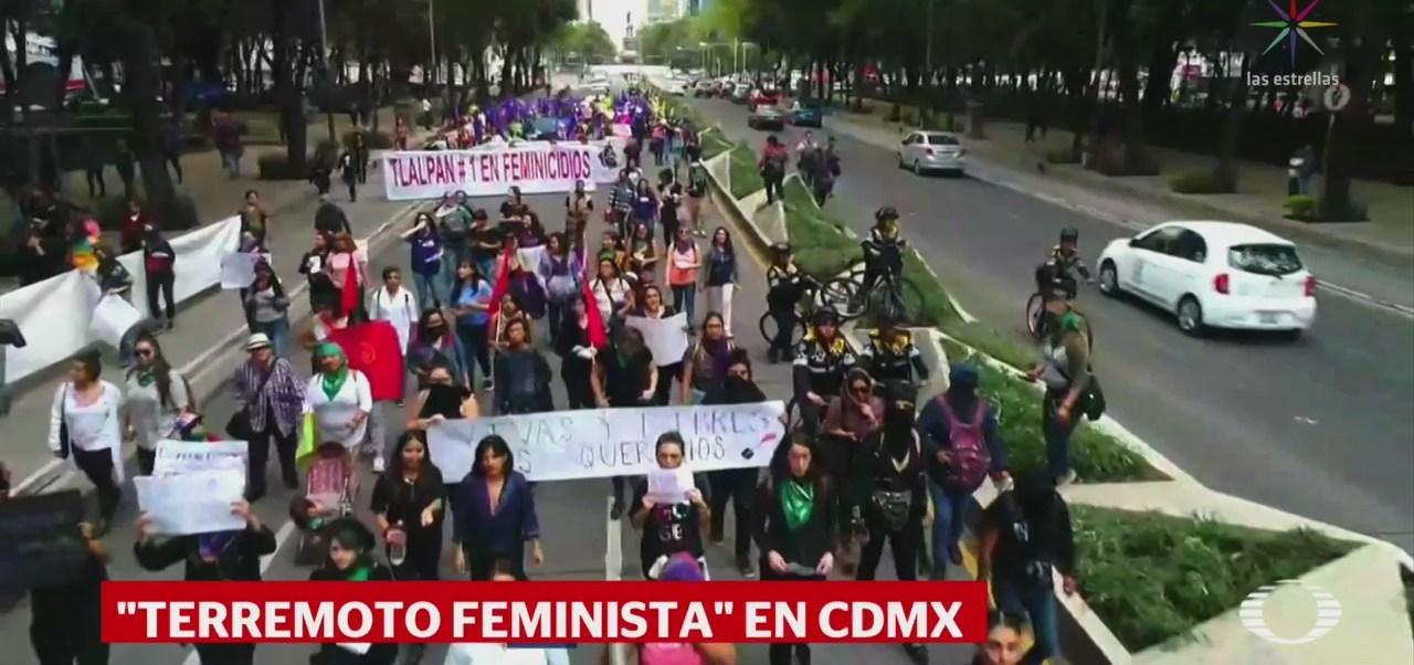 Foto: Terremoto Feminista Marcha Violencia Mujeres Cdmx 19 Septiembre 2019