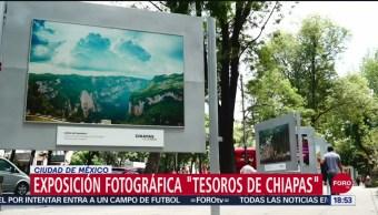 FOTO: Tesoros De Chiapas Exhibición Fotográfica Paseo De La Reforma