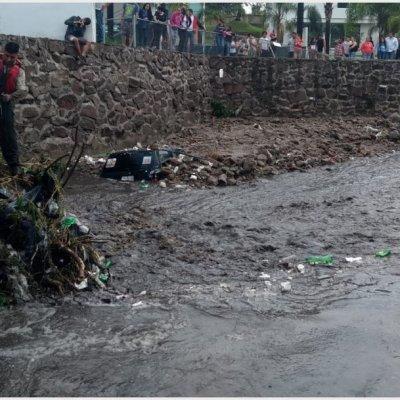 Fallecen dos mujeres tras ser arrastradas por arroyo en Tlajomulco de Zúñiga, Jalisco