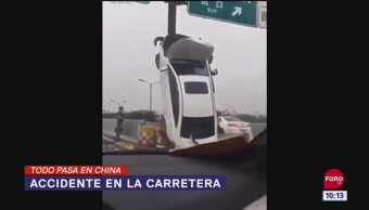 Todo Pasa En China: Accidente en la carretera