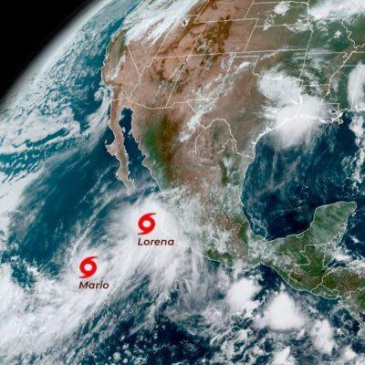 'Lorena' se degrada a tormenta tropical en Jalisco; podría retomar fuerza