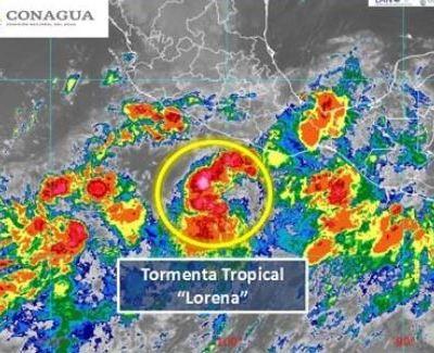 Alerta en el Pacífico mexicano por la formación de la tormenta tropical 'Lorena'