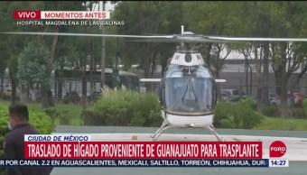 FOTO: Trasladaron CDMX Hígado Proveniente Guanajuato Para Trasplante