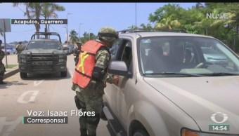 FOTO: Turistas abandonan Acapulco tras fiestas patrias, 16 septiembre 2019