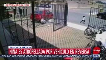 FOTO:Vehículo atropella a niña y su papá en Tecámac, Estado de México, 7 septiembre 2019