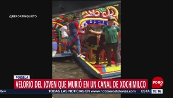 FOTO: Velan Joven Que Murió Caer Una Trajinera Xochimilco,