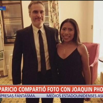 Yalitza Aparicio comparte foto con Joaquin Phoenix
