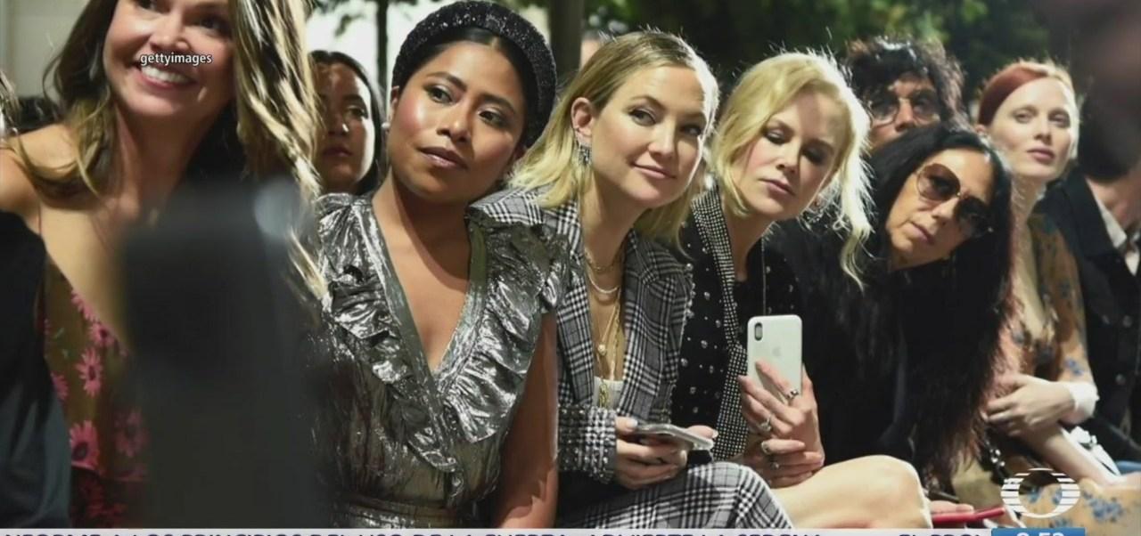 Yalitza Aparicio deslumbra en desfile de modas en Nueva York