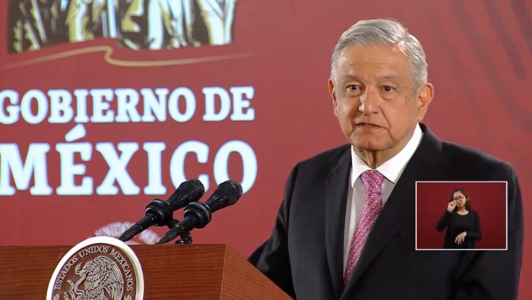 Foto:Sugiere AMLO uso de corresponsales para cubrir sus giras, 28 de octubre de 2019, Ciudad de México