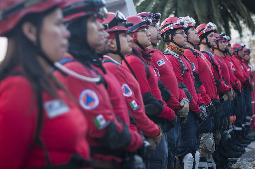 Foto: Topos de Tlatelolco. 17 Octubre 2019