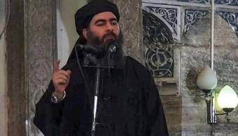 El líder del Estado Islámico, Abu Bakr al Bagdadi, 27 octubre 2019