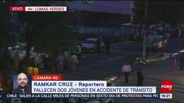 Foto: Accidente Motocicleta Tráfico Lomas Verdes Naucalpan 23 Octubre 2019