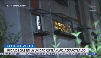 Adolescente salva a su familia durante fuga de gas en Azcapotzalco