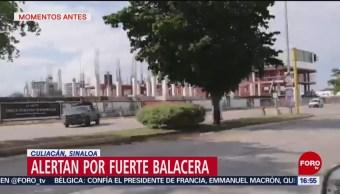 FOTO: Alertan Por Fuerte Balacera Culiacán Sinaloa